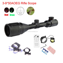 3-9X50A0EG 22mm rail tactical shooting riflescope for hunting