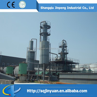 Continuous Production Waste Oil Recycling Industry/Pyrolysis Plastic Oil Processing Equipment