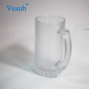 a817ac1c5b45c 16oz Sublimation Frosted Glass Beer Mug, 16oz Sublimation Frosted ...