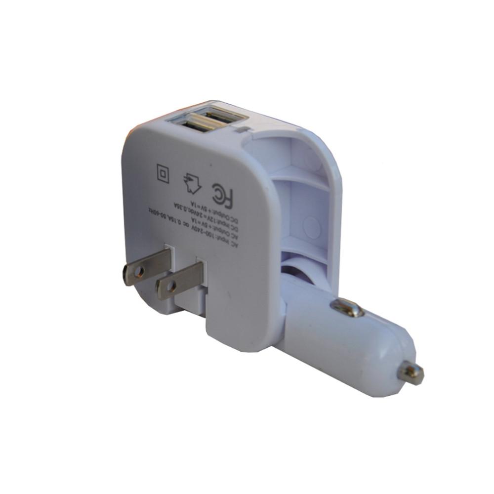 12v Ad Cd Car Charger Adapter Usa,Eu Plug Travel Adapter