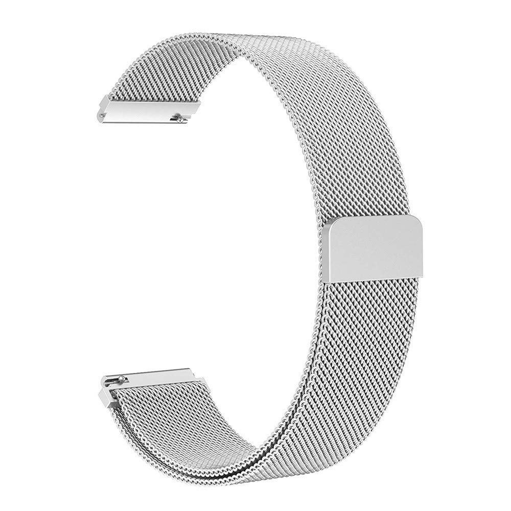 Fenebort Accessory for Samsung Galaxy Watch, Milanese Magnetic Loop Stainless Steel Wristband for Samsung Galaxy Watch 46mm/42mm