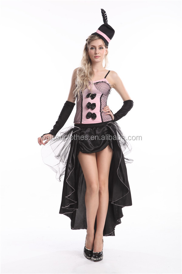 can can dancer costume