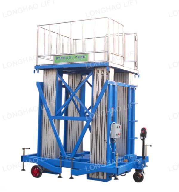 Hot sale aluminum man lift aerial lift table for sale