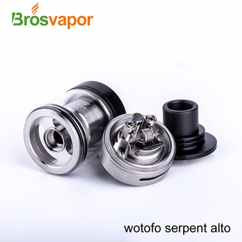 2017 Newest Wotofo Serpent Alto 2.5ml Capacity Single-coil Tank