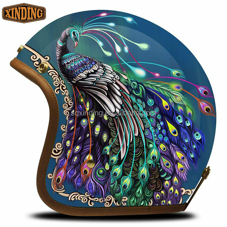 The New Style German Open Face Helmet For Motorcycle Bike Accessories