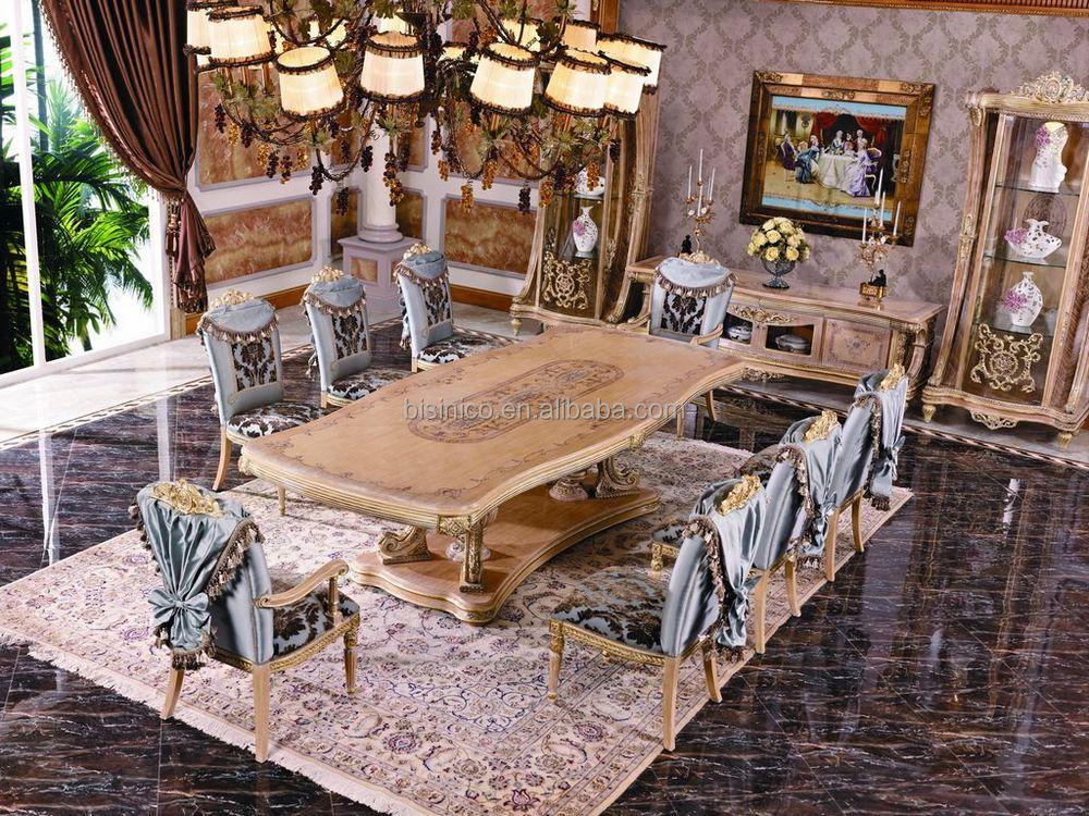Luxus franz sisch reich esszimmer stuhl europ ischen claissc intarsien kunst dinging zimmer - Esszimmer franzosisch ...