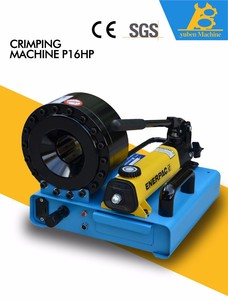 The Newest hydraulic hose crimping machine P16HP in Wire Cutting Stripping and Crimping