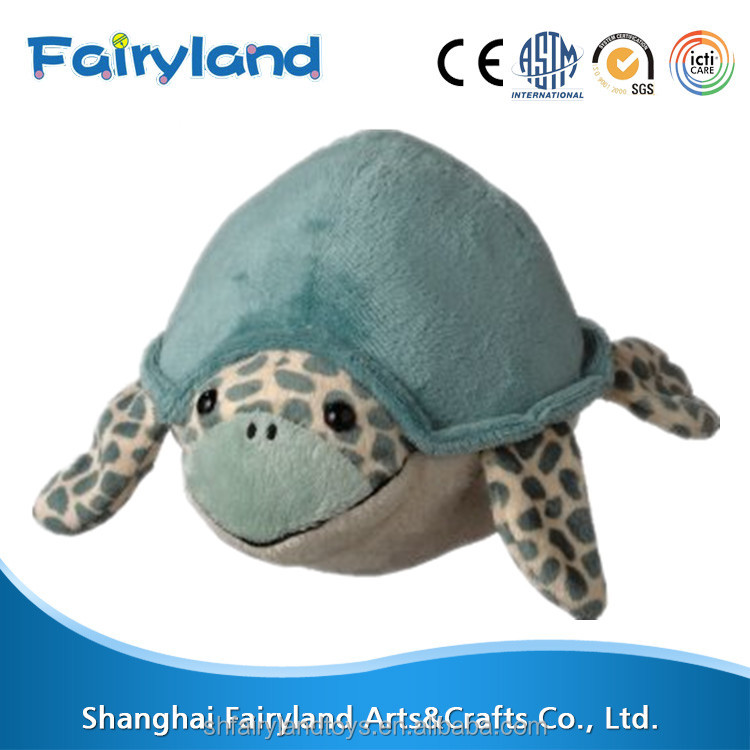 Soft plush baby ball toy 5inch Diameter Sea Turtle