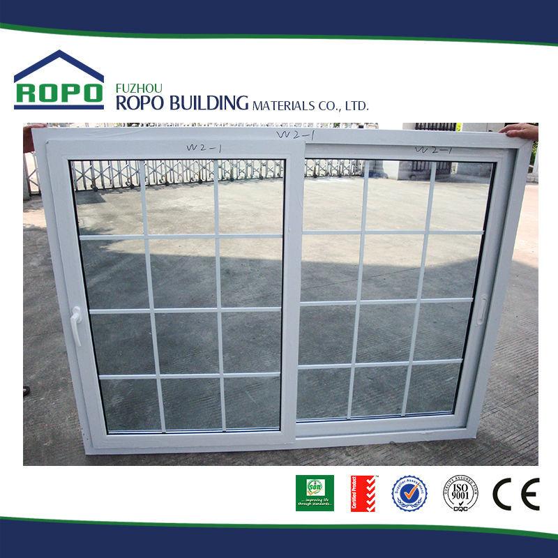 Straordinariamente durevole upvc pvcu finestra scorrevole con griglia di disegno vetrino id - Griglia regolabile protezione finestre ...