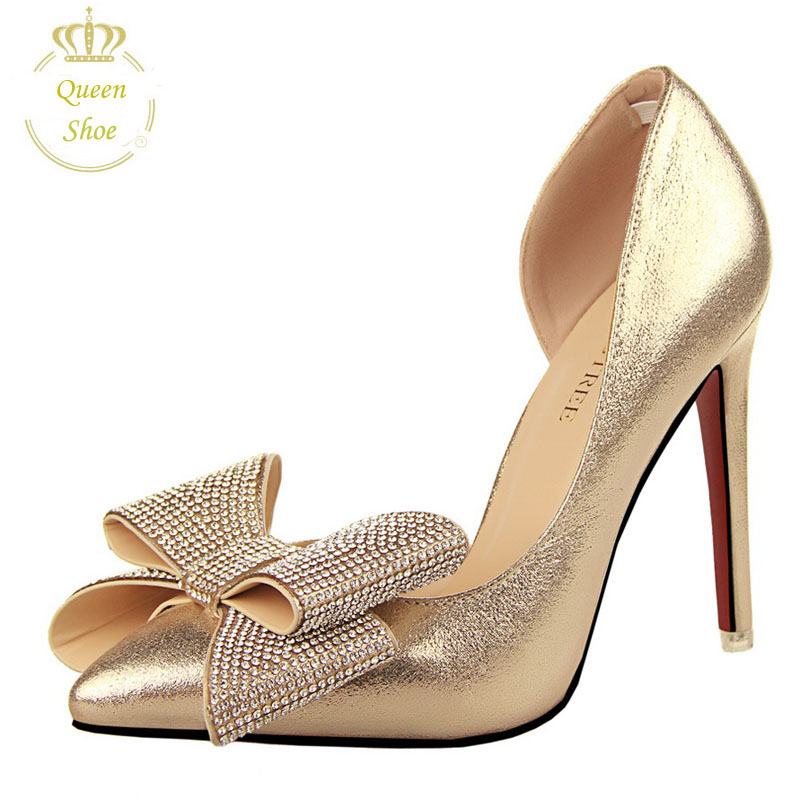 2015 Fashion Sexy Pumps Women Shoes High Heels Women Pumps Wedding Shoes Stitching Pointed Hollow Sandals