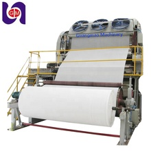 5 Ply Jumbo Roll Toilet Paper Making Process Machine Equipment From Recycling
