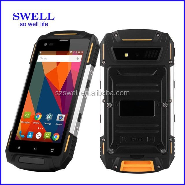 4.5inch rugged android PAD IP68 GPS WIFI FM Bluetooth Android5.0 dual SIM 4G S950