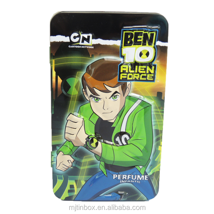 Ben 10 Alien Force Card Games in Tin Box