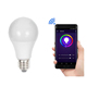 RGBW remote voice control 10W smart wifi led light bulb