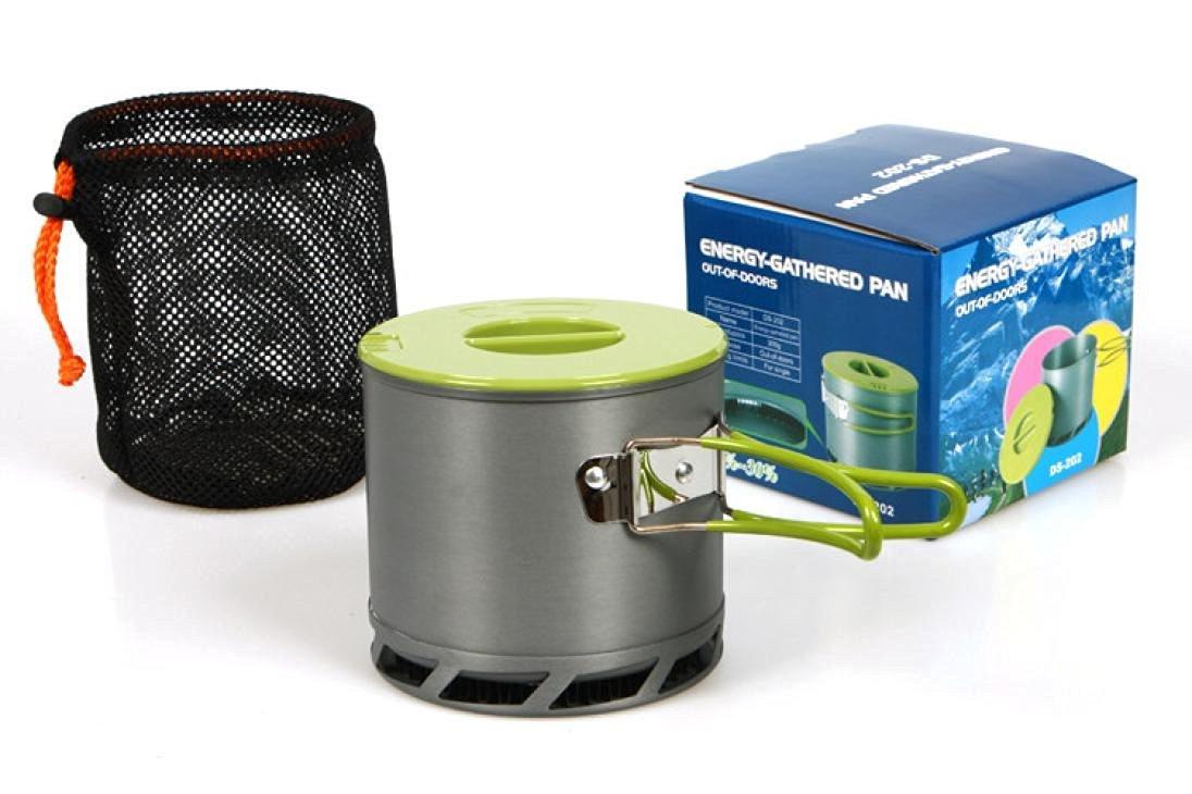 Camping Hiking Cookware , Hmlai@ 8pcs Outdoor Camping Hiking Cookware Backpacking Cooking Picnic Bowl Pot Pan Set