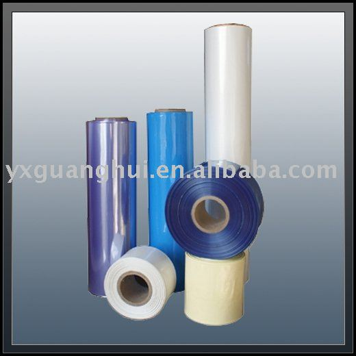 Colourful PVC Shrinkable Film in Packaging&Printing