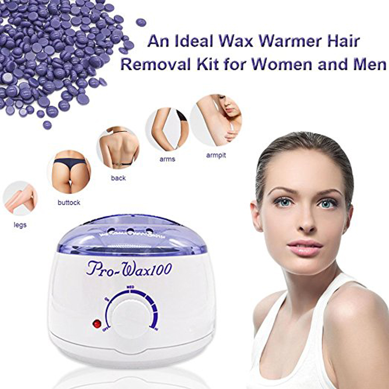 Amazon Hotselling Hair Removal Waxing Kit Elektrischer Schmelztiegel Facial Wax Warmer Heater