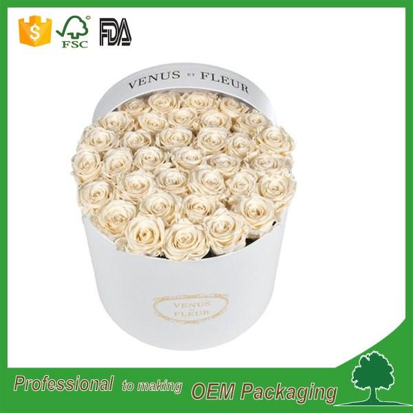 Custom design large 30 cm diametro fiore di cartone for Produttore di blueprint online
