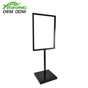 Outdoor Metal Floor Standing Sign Holder/Advertising Display Equipment