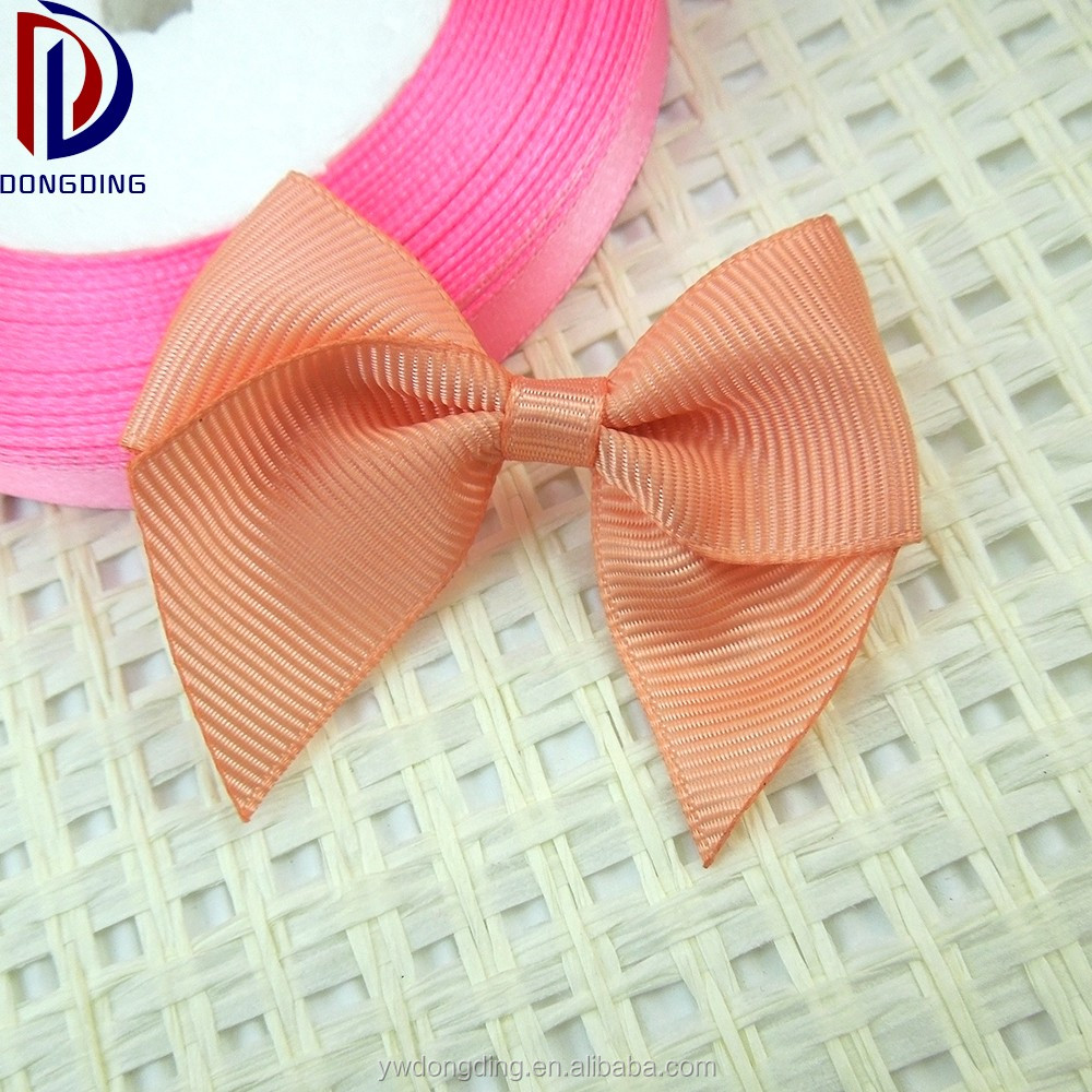 "Custom printed petersham ribbon 2""inch striped grosgrain ribbon bow with dots"