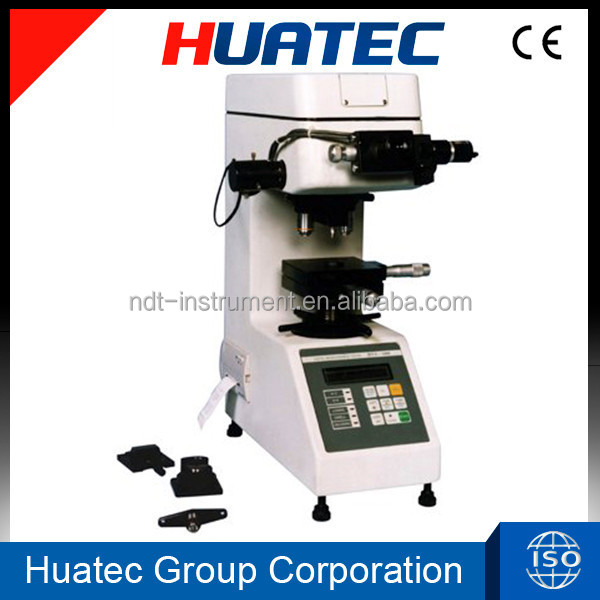 5 - 2500HV digital micro vickers hardness tester with automatically turning turret and printer
