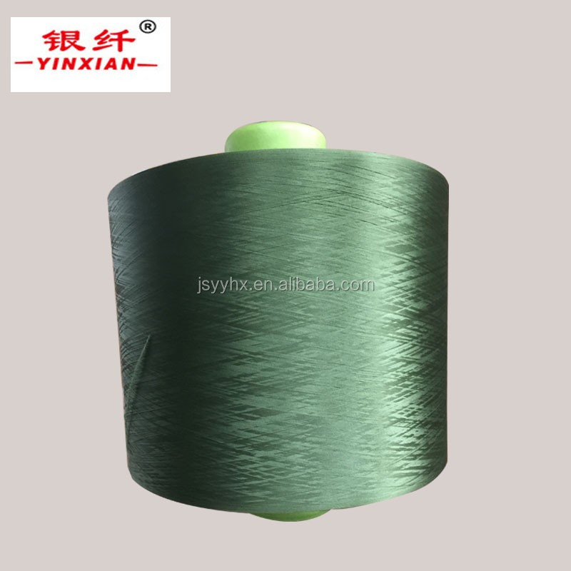 pbt filament dty polyester textured yarn 300 denier colored yarn