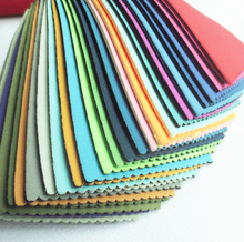 nylon polyester neoprene sbr rubber fabric for shoes