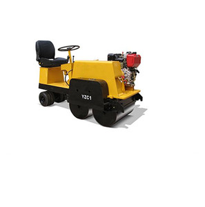 best selling mini road roller 1 ton vibratory road roller compactor 5kw mechanical single drum road roller for sale
