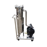 Hot sale Stainless steel single bag filter