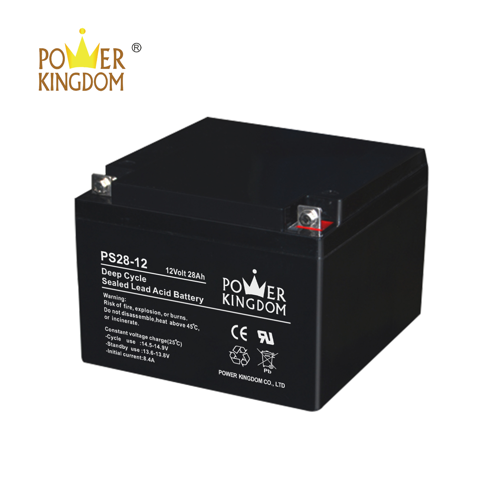 Power Kingdom equalizing agm batteries Suppliers solar and wind power system-3