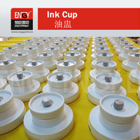 Wholesale china merchandise new red plastic tattoo ink cups/ink caps