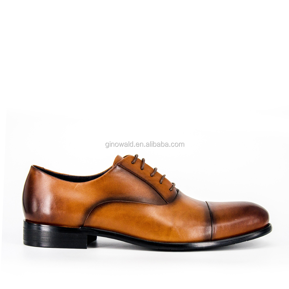 shoes effective formal off leather New brush men dress Design qTRO48