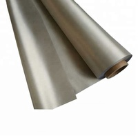 RFID Protection fabric silvery EMF/rfid Shielding fabric for blocking signal and Anti Radiation