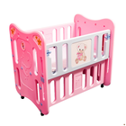 Multifunction 3-in-1 Convertible Baby Crib