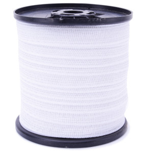 Electric fencing farm suit solar energizer 400m roll poly tape