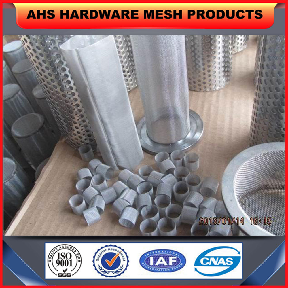 stainless steel filter circular sieve tube
