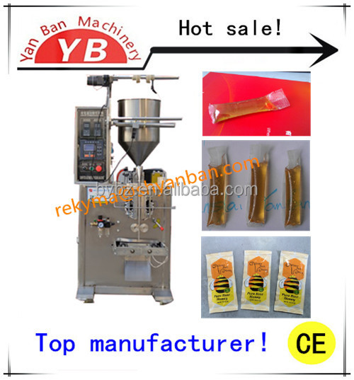 High Performance and Good Price Automatic Sachet Honey Packaging Machine YB-150J / 0086-13916983251