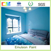 Shopping websites waterproof interior wall paint/interior wall emulsion paint with asian paints tractor emulsion price list