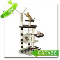 Cat climbing tree house/kitty condo plans/cat gym furniture