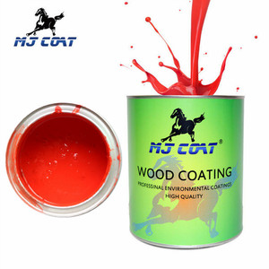 Standard Blue wooden furniture paint putty 2K Solid Color Top Coat