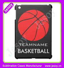 JESOY New Products Basketball Logo Phone Case, PC 3D Image Protective Case For ipad Case