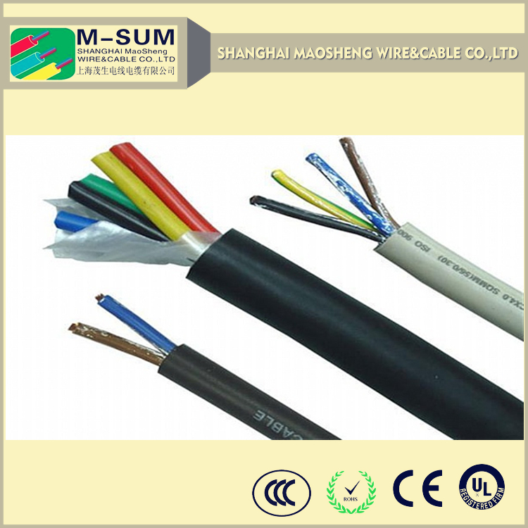 Cold Resistant Flame-retardant flexible rubber wind power cable