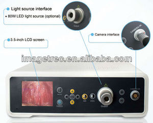 Video rigid endoscope with led light source