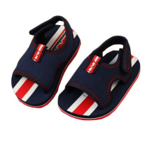 New arrival 2015 baby sandals british girls boys shoes baby shoes 1-3 years dark blue
