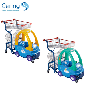 kids metal shopping cart/trolley