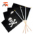 100%  polyester small pirate hand flag for decoration