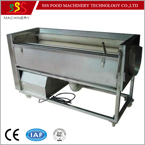 Multi-fuction Sweet potato washing peeling machine potato peeler Lotus peeler Taro peeling machine