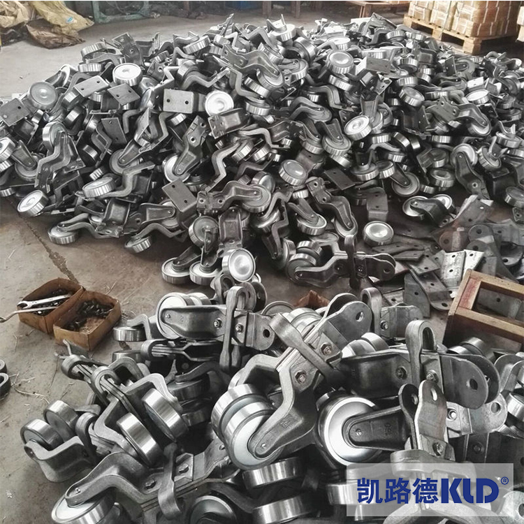 China Overhead Track Conveyor Rails and Wheels