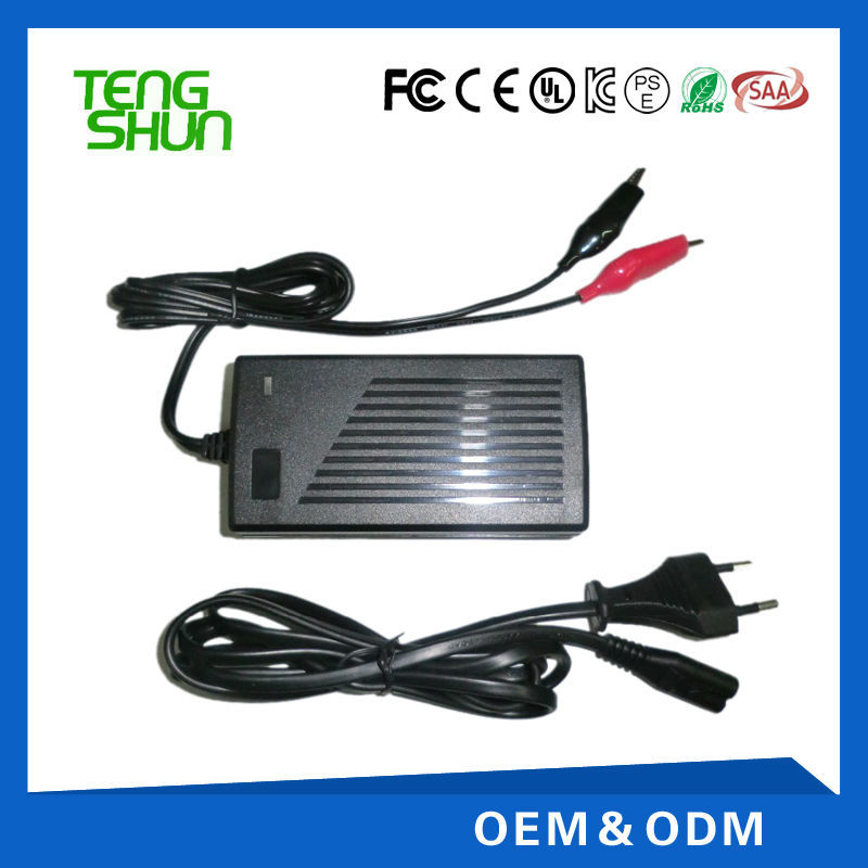 12v 4a 24v 2a automatic deep cycle battery charger for lead acid battery