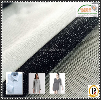 China Wholesale 100polyester Tricot Knitted Fusible Interlining ...